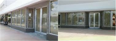 commercial front door replacement