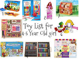 Favorites And Things Christmas Toy List For 4 5 Year Old Girls 6 Gifts Girl 3