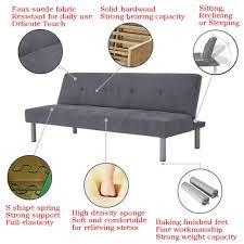 foam z bed clack fabric sofa bed