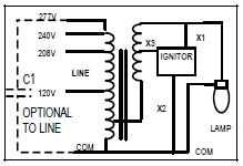 100 w metal halide ballast kit keystone mh 100x q kit quad tap 120 high pressure sodium lamp wiring diagram at Metal Halide Lamp Ballast Wiring Diagram