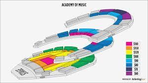 Philadelphia Kimmel Center Academy Of Music Seating Chart