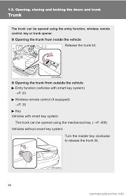 TOYOTA COROLLA 2010 10.G Owners Manual