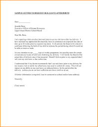 Template Letter Maternity Leave Employer New Creati As Template