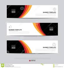 Presentation Flyers Banner Design For Business Presentation Stock Illustration