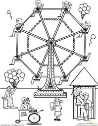 The Best Free Carnival Coloring Page Images Download From 281 Free