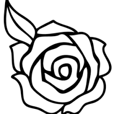 Small Picture Roses Coloring Pages Free Coloring Pages Coloring Page Rose In