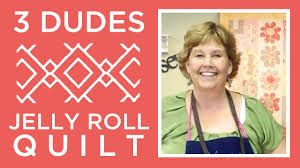 Amazing Jelly Roll Quilt Pattern by 3 Dudes! - YouTube &  Adamdwight.com