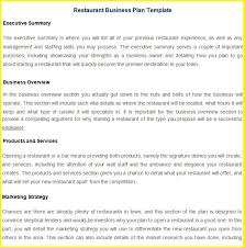 Restaurant Business Plan Sample 10 Restaurant Sales Plan Examples Pdf Word Pages Examples