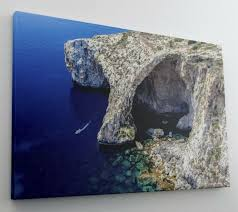 Felsen Meer Klippen Ozean Wasser Leinwand Bild Wandbild