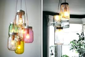 diy canning jar pendant light lights chandelier farmhouse kitchen build it mason