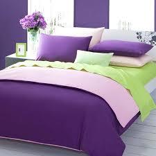 green pink purple 3pieces color solid duvet covers purple duvet cover sets king size purple velvet