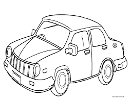 Give your kid colored markers and several printed coloring pages, and you'll see how fast the time will fly by. Cars Coloring Pages Cool2bkids