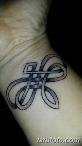 фото тату двойная бесконечность от 09122017 100 Tattoo Double