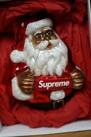 Supreme Santa Ornament 2018 Christbaumschmuck