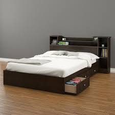 platform beds with storage. Bed With Storage Pocono Bookcase | Hayneedle WVWGSEU Platform Beds