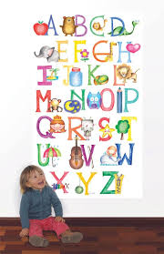 alphabet classroom decor wall decal