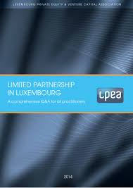 Limited Partnership In Luxembourg