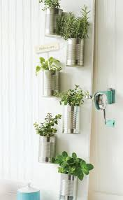 Accessories: Hanging Pegboard Herb Coffee Mug Container - Herb Garden Ideas