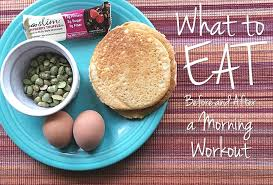 how early should i eat before working