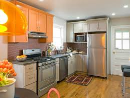 image of small kitchen cabinet colors