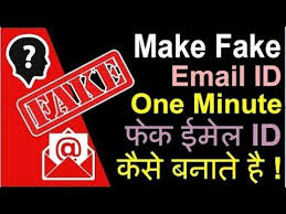 Fake Make To Youtube A Banaye Kaise Id Email Address fake How wTtqZ4Wq