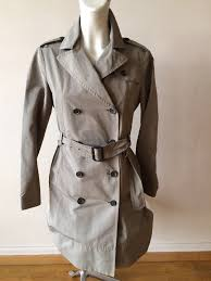 prada trench coat mac spring coat it 38 uk 8 or 6