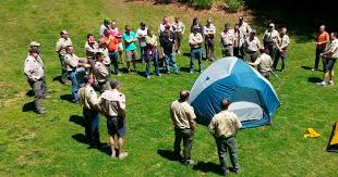 Basic adult leader outdoor orientation manual