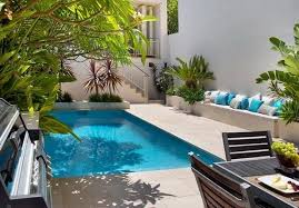 Small Picture Swimming pool garden design ideas