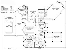24 best house plans images on pinterest floor plans, home plans Luxury Waterfront Home Plans florida mediterranean house plan 60524 luxury home luxury waterfront house plans