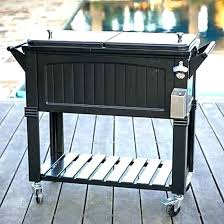 outdoor cooler cart patio cooler on wheels patio cooler cart party patio cooler cart black wheeled outdoor cooler