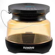 Nuwave Primo Grill Oven With Integrated Digital Temp Probe For Perfect Results Convection Top Grill Bottom For Surround Cooking Cook Frozen Or