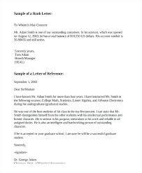 letter of recommendation for former employee template employee recommendation letters generic reference letter for former