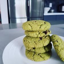 Almond flour for the main flour. Midori Spring Matcha Almond Flour Cookies W Cacao Nibs Recipe Midori Spring