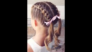 How To Knotted French Braid Pigtails Tutorial Brown Haired Bliss
