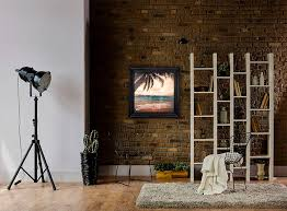 lighting frames. Handmade Wood Frames For Even-Glow® LED Panel Lights: Shown With Dimmed To Approximately 60% Lighting