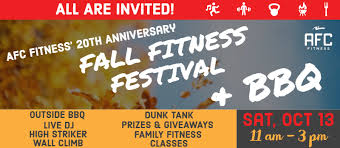 afc fitness 20th anniversary fitness festival and bbq
