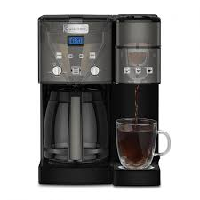 The vinegar/baking soda mixture will dissolve any calcified minerals in your coffee machines reservoir. Cuisinart Cuisinart Coffee Center 12 Cup Coffeemaker And Single Serve Brewer