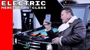 G Electric Arnold Schwarzenegger Electric Mercedes G Class Ev By Kreisel