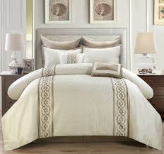 ay comforter set ivory king with sets idea knobcreekforg on black and ivory comforter bedding sets