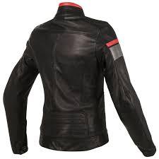dainese blackjack lady leather jacket red 2