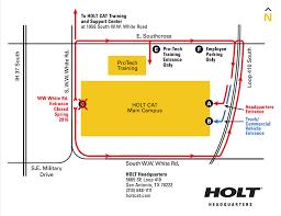 HOLTCAT > Contact Us > Locations > San Antonio > New Entrance