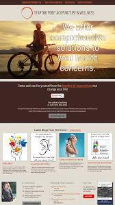 Acupuncture Web Design Wordpress Web Design Custom From Webvisuals Com