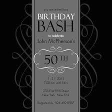 50th Birthday Invitation Samples Major Magdalene Project Org