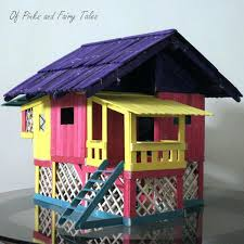 inspirational popsicle stick house plans or homemade stick house designs regarding houses plans 9 82 popsicle