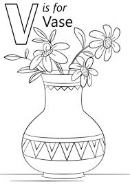 Small Picture Letter V coloring pages Free Coloring Pages