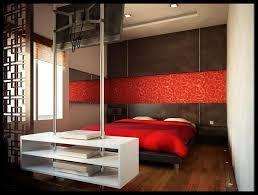 Modern Bedroom Wallpaper Wall Modesty Red Modern Wallpaper Inspiration Design Red Modern
