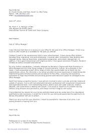 Office Administration Cover Letter Top Result Covering Letter For ...