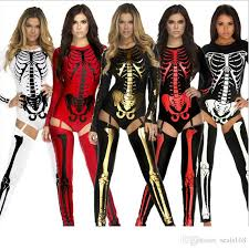Superb 2019 New Halloween Costume Cosplay Skull Witch Vampire Queen Devil Ghost  Party Clothing Big Children Women Special Occasions Sexy Clothes HH C38  From ...
