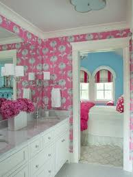 really cool bathrooms for girls. Simple Really Martha Ou0027Hara Interiors Gave This Girlu0027s Bathroom Pink Wallpaper  That Is Fun And Playful Without Being To Really Cool Bathrooms For Girls