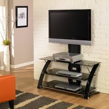 good floating glass tv stand